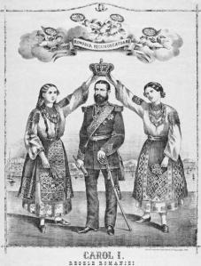 10 MAI 1881 ROMANIA REGAT REGE CAROL